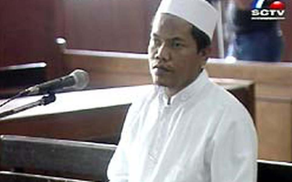 Islamic Youth Movement activist Iqbal Siregar (Liputan 6)