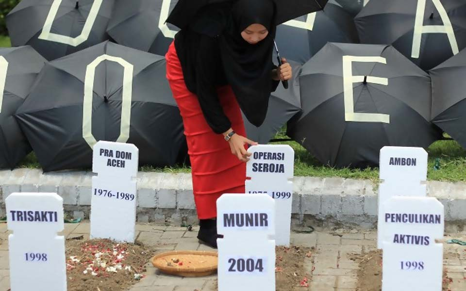 Commemoration of Human Rights Day in Surabaya (Rima News)