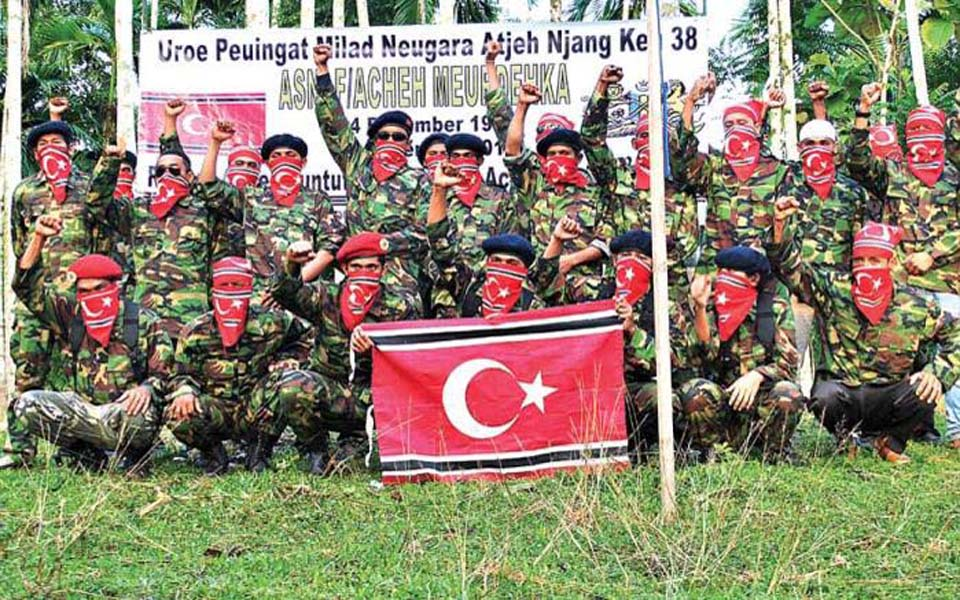 Free Aceh Movement fighters (Kompasiana)