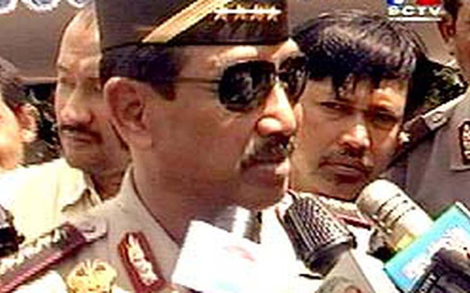 Indonesian Police Chief General Da'i Bachtiar (Liputan 6)