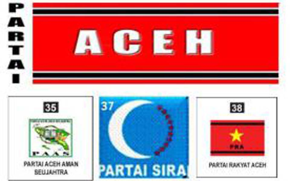 Acehnese local political party logos (hikmawansp)