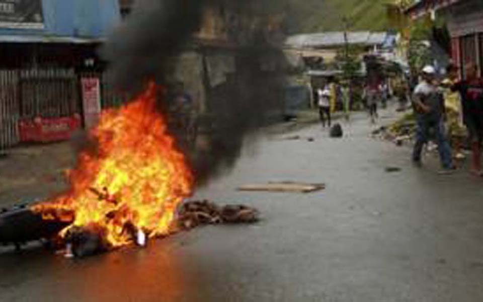 Aftermath of riots in Abepura (BBC)
