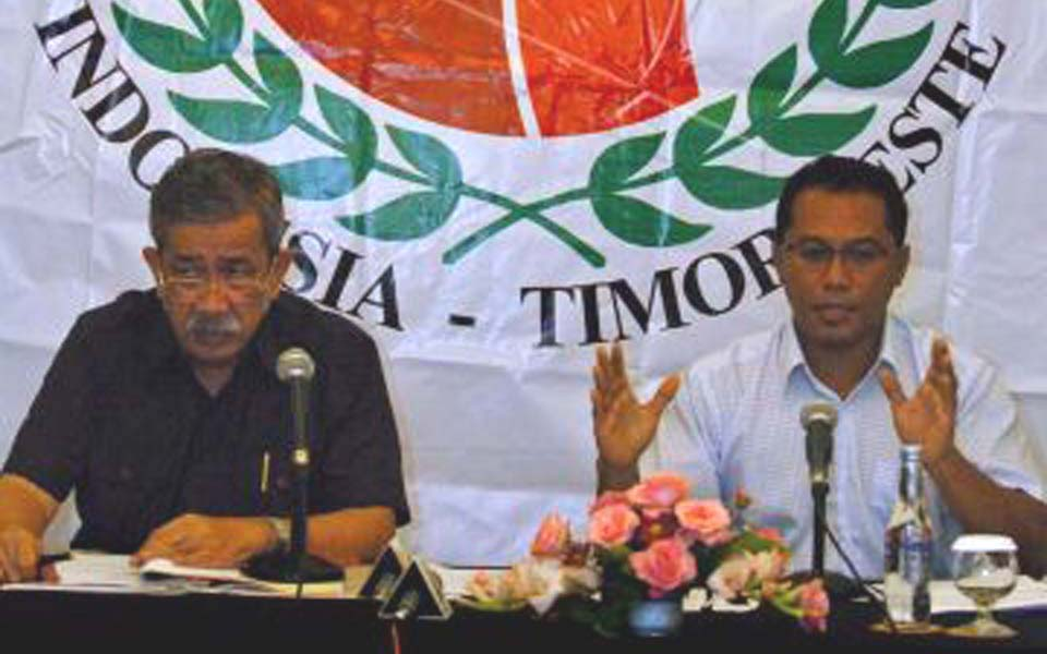 Indonesia-East Timor Truth and Friendship Commission (Antara)