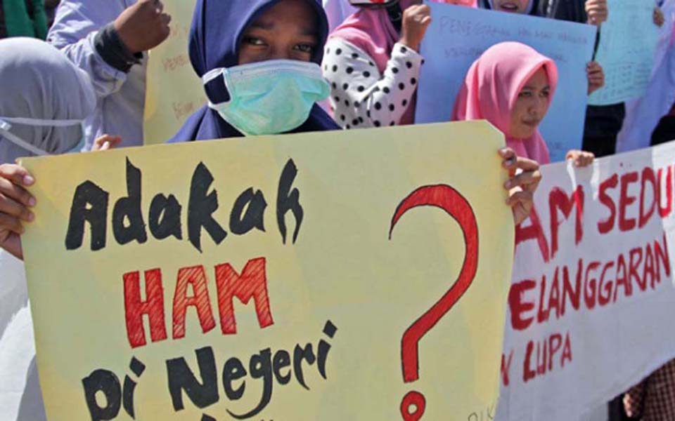 Commemoration of International Human Rights Day in Aceh (Tempo)