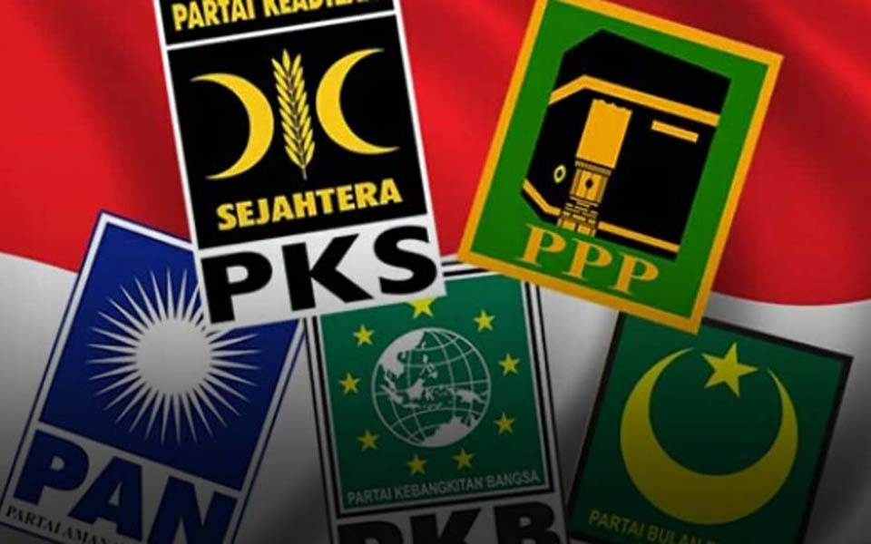 Symbols of Indonesian Islamic based parties (Ini Kata)