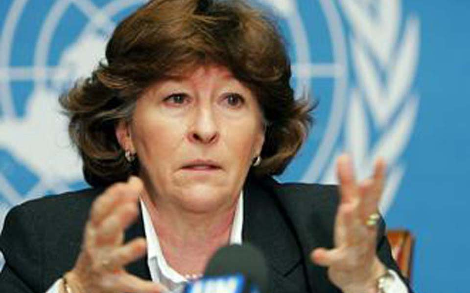 United Nations High Commission for Human Rights Louise Arbour (dw)