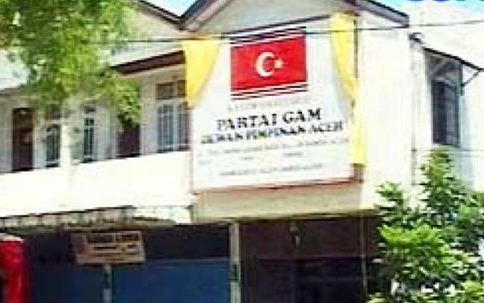GAM Party offices in Banda Aceh (Liputan 6)