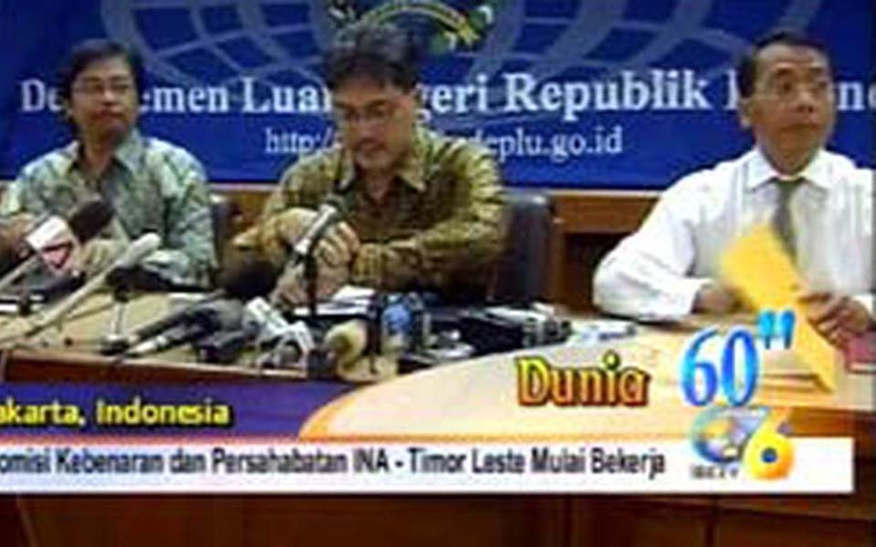 Indonesia-East Truth and Friendship Commission (liputan6)