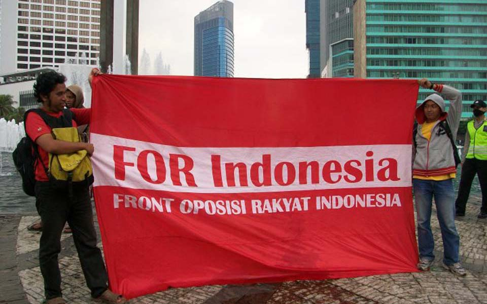 For Indonesia IWD rally in Jakarta - March 8, 2010 (Wilson)