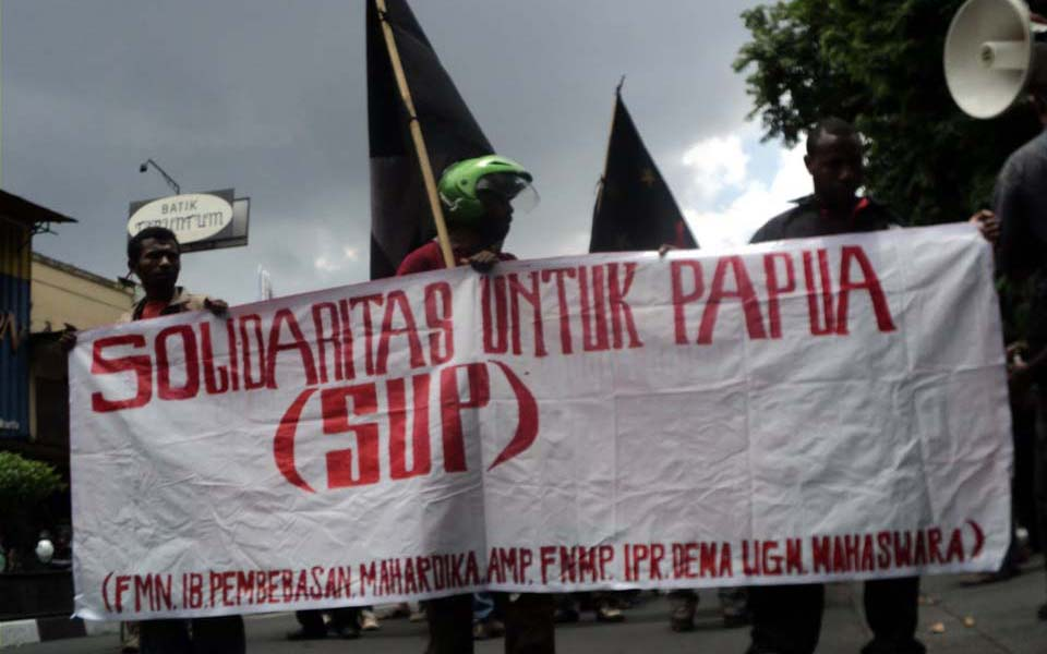 Solidarity for Papua rally (wayai-deto)