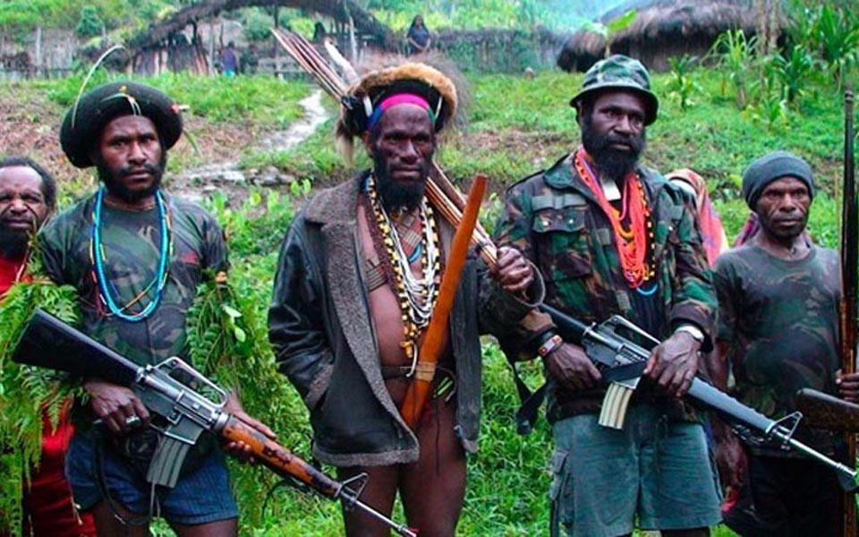 Free Papua Movement (OPM) fighters (Ist)