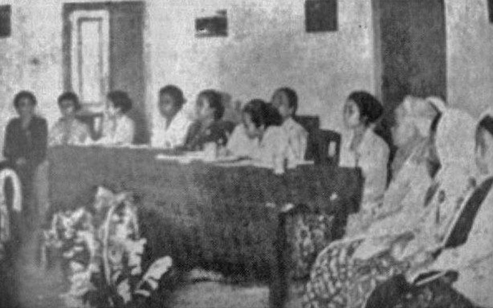 First Women's Congress in Yogyakarta – December 22, 1928 (Repro)