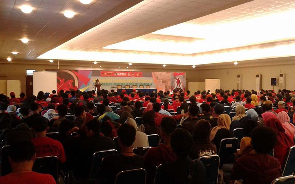 People's Movement Conference in Jakarta - April 19-20, 2018 (AJ)