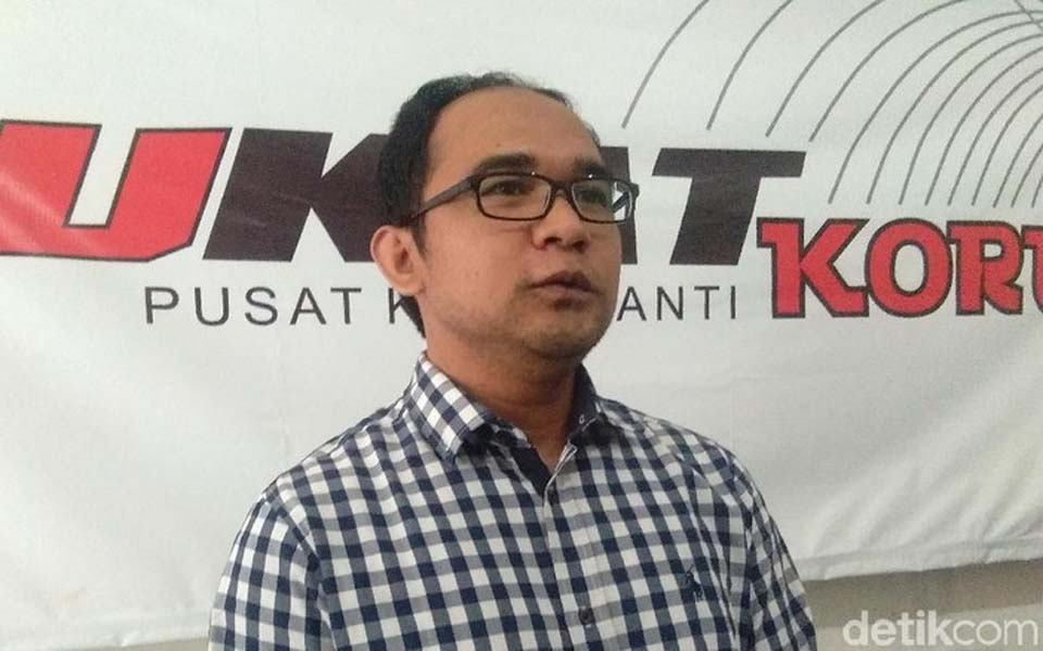 UGM Anti-Corruption Centre Chairperson Oce Madril (Detik)