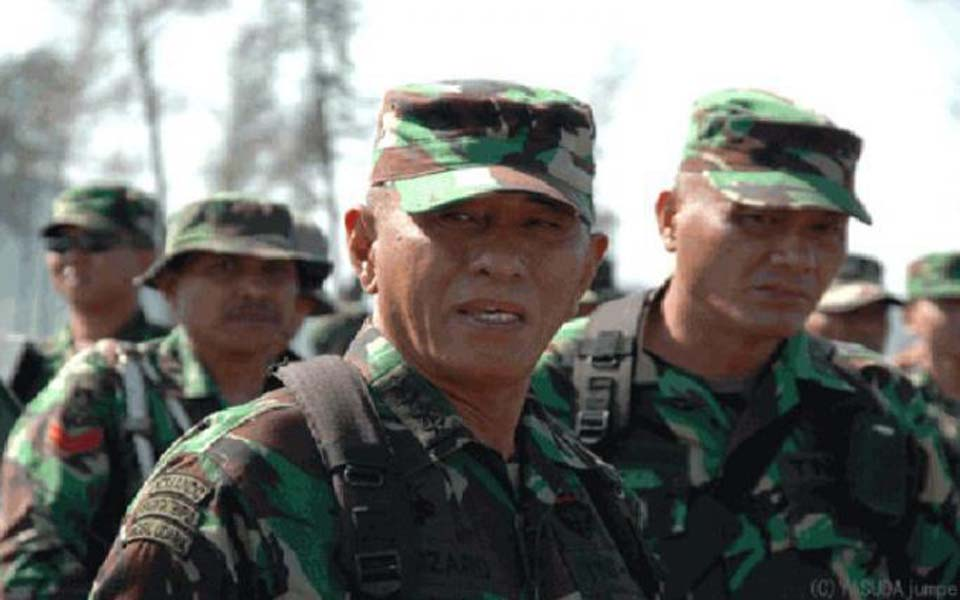 TNI-AD chief of staff General Ryamizard Ryacudu (Tribune)