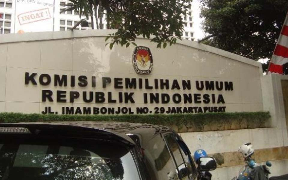 National Elections Commission office in Jakarta (Tribune)