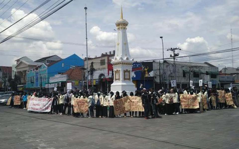 Students commemorate Human Rights Day in Yogyakarta (Tribune)