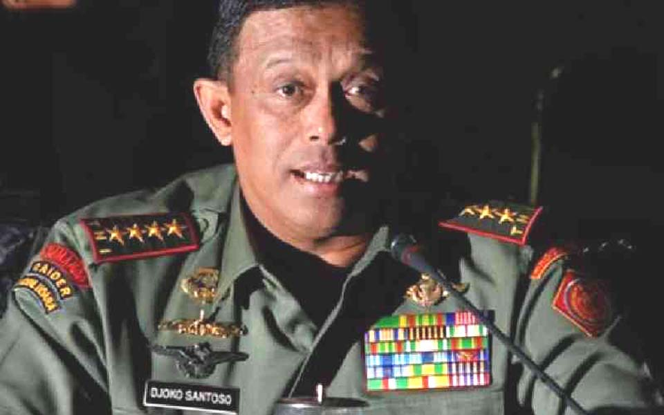 Army Chief of Staff General Djoko Santoso (Kabar)