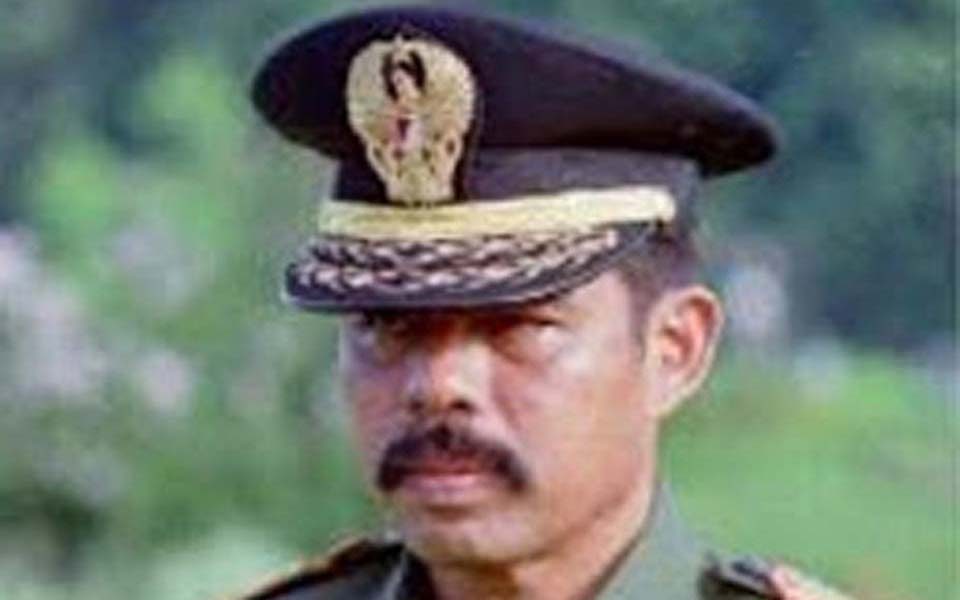 Army Information Office chief Brigadier General Hotmangaradja Pandjaitan (sosok-tokoh)