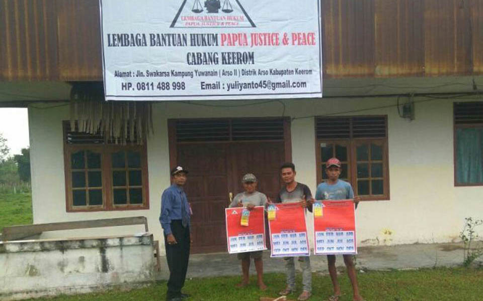 Legal Aid Foundation office in Papua (Tifa Online)