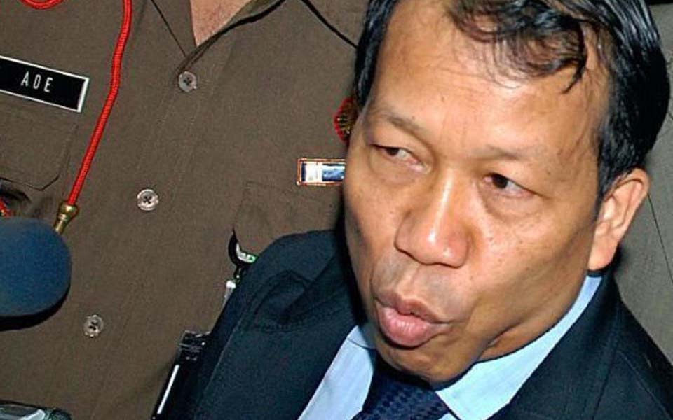 Minister of Justice and Human Rights Hamid Awaluddin (Alchetron)
