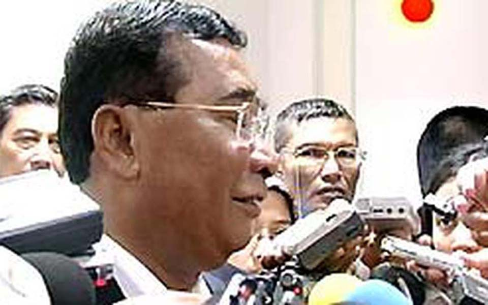 National Intelligence Agency chief Syamsir Siregar (Liputan 6)