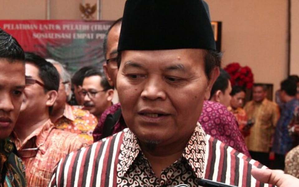 People's Consultative Assembly Speaker Hidayat Nurwahid (Lensa Pos)