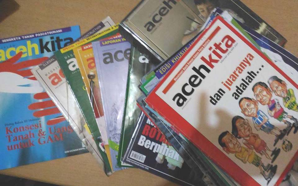 Aceh Kita (Our Aceh) tabloid (Aceh Pungo)