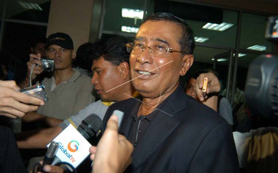National Intelligence Agency chief Syamsir Siregar (Antara)