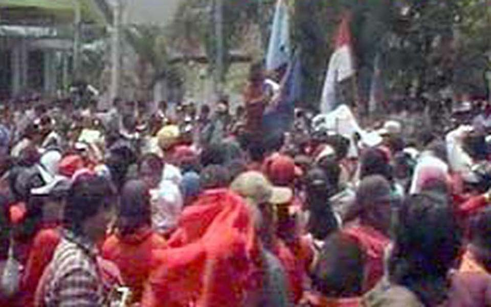 National Liberation of Unity protest action (Liputan 6)
