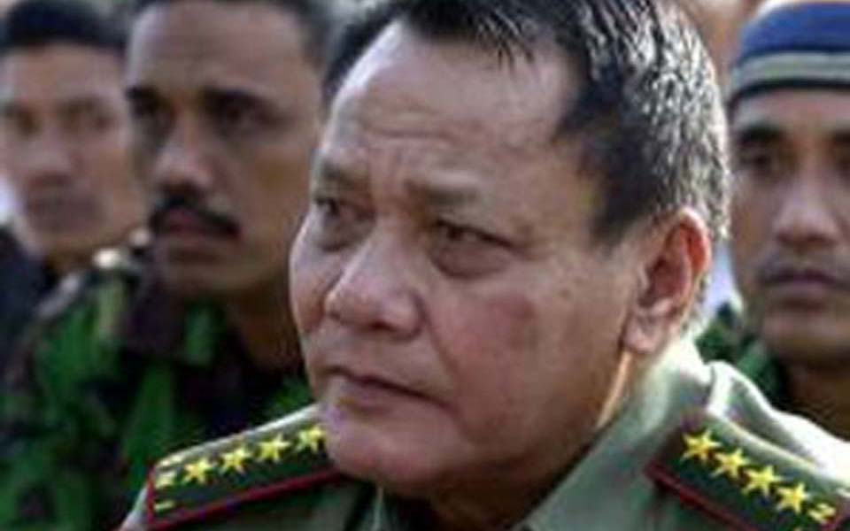 TNI chief General Endriartono Sutarto (Pos Kota News)