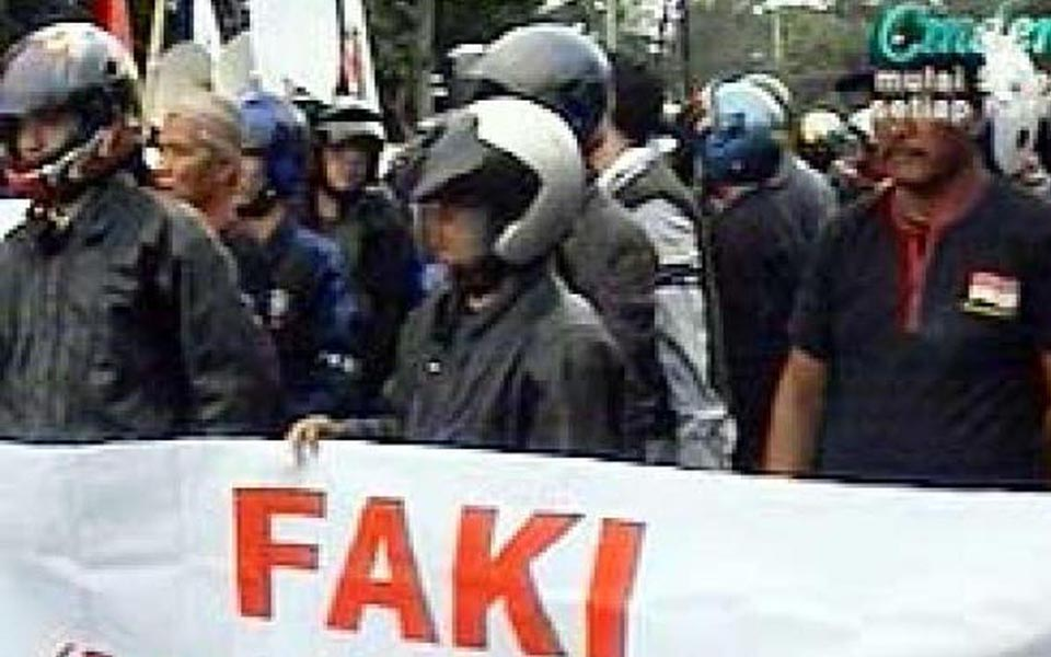 Anti-Communist Front (FAKI) - January 20, 2007 (Liputan6)