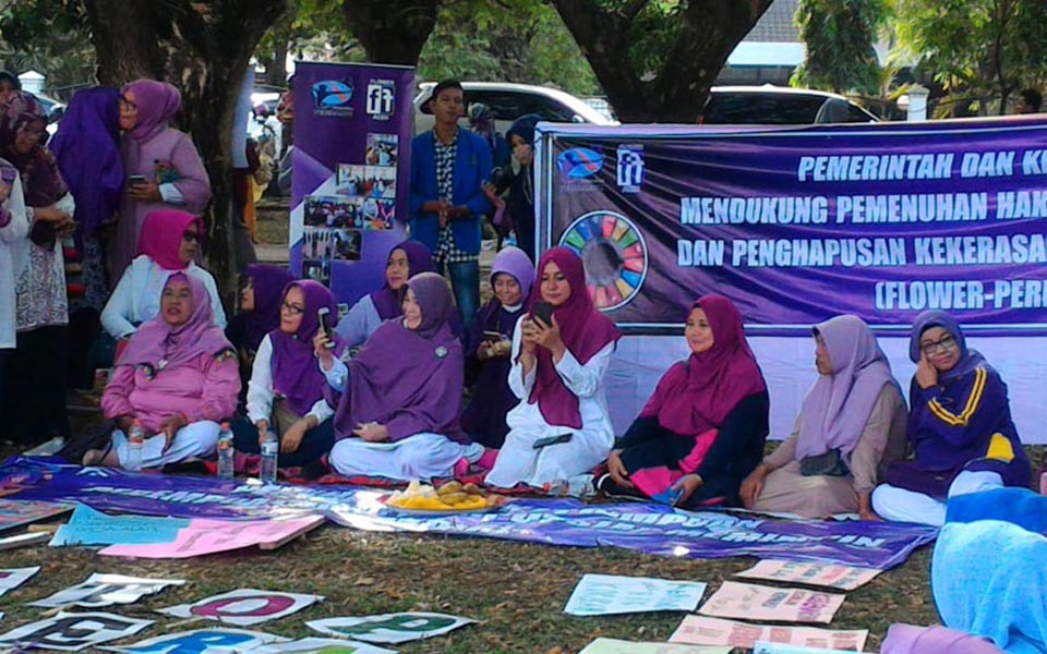 International Women's Day commemoration in Aceh (Aceh Monitor)
