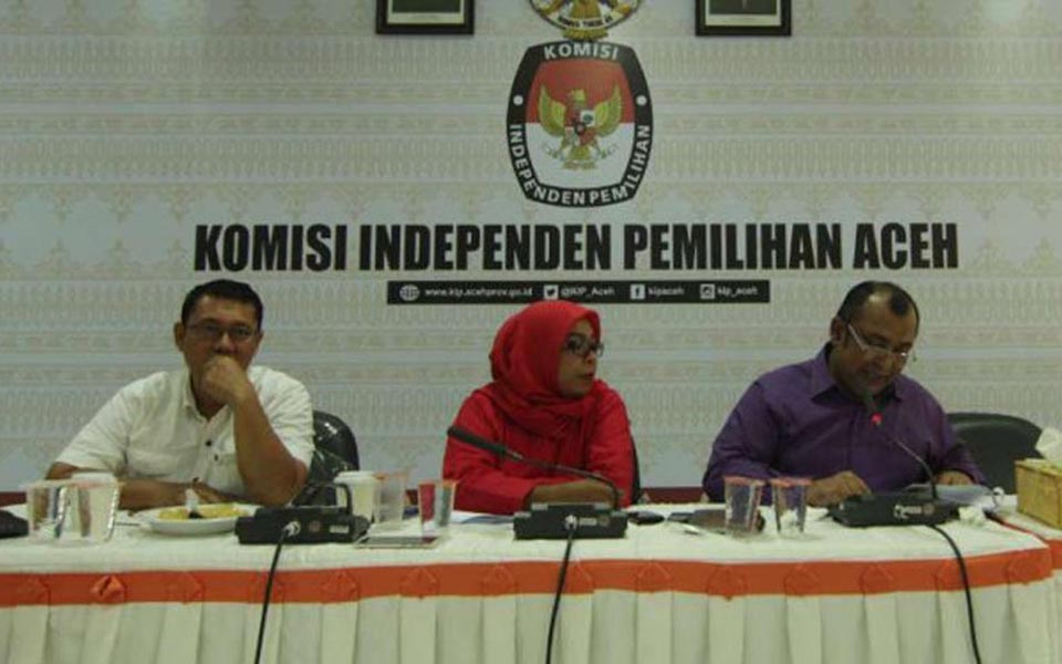 Independent Election Commission holds press conference on local parties in Aceh (Viva)