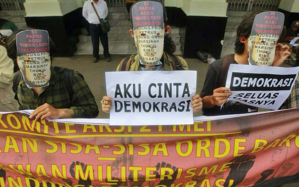 May 21 Committee action marking fall of Suharto (Buli Ju)