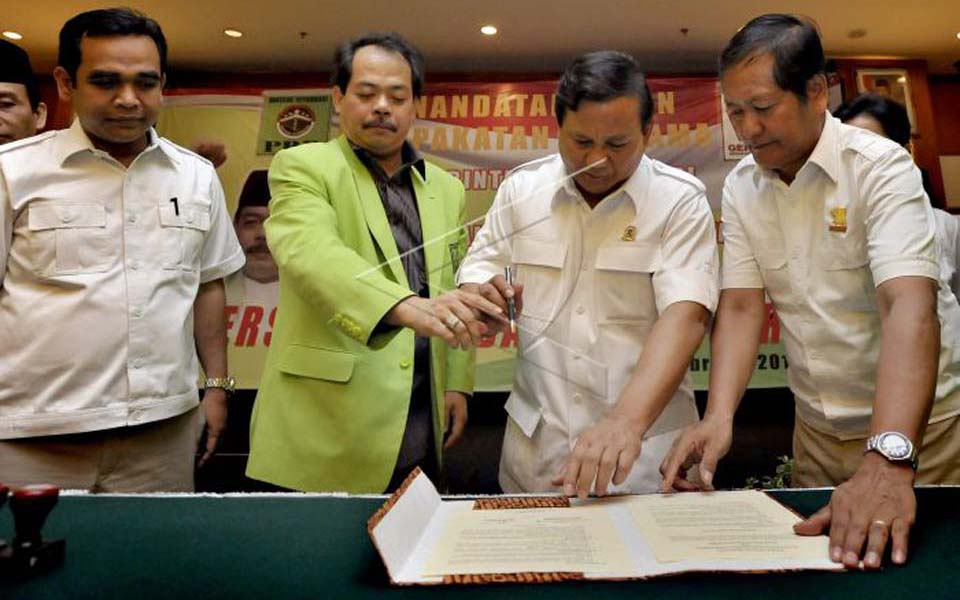 Prabowo Subianto and Bursa Zarnubi sign Mou (Liputan 6)