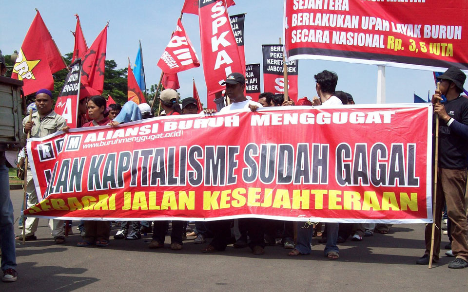 Workers Challenge Alliance rally (PM)