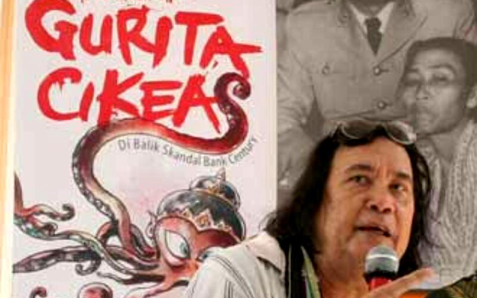 Cikeas Octopus author George Junus Aditjondro (Heta News)