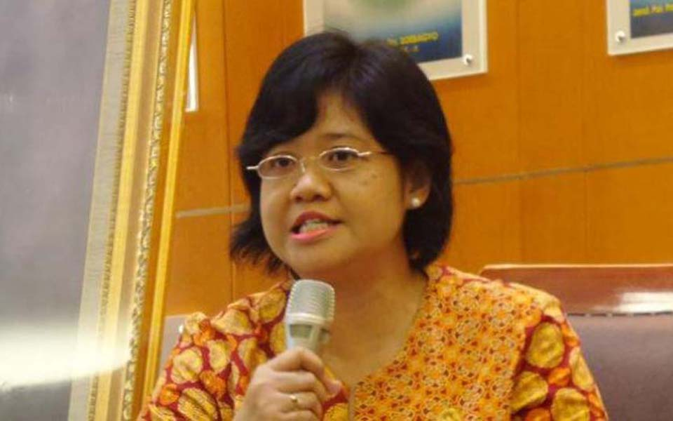 Poengky Indarti from Indonesian Human Rights Watch (Tribune)