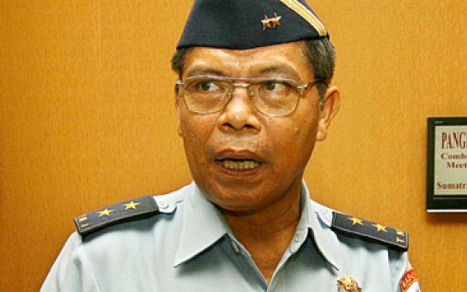 TNI Information Centre Director Air Vice Marshal Sagom Tamboen (Tempo)