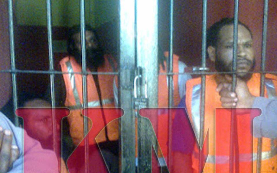 West Papuan political prisoners (Kabar Mapegaa)