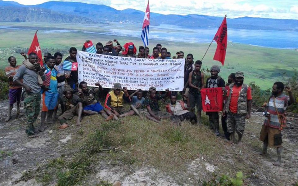 West Papuan protesters in Panai call for independence (Tabloid Wani)
