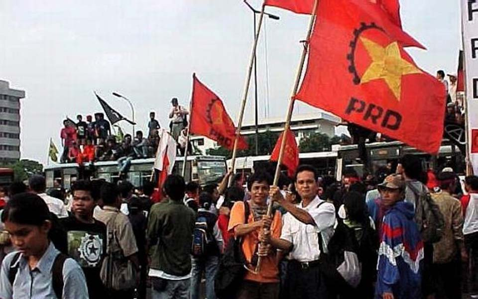 People's Democratic Party rally in Jakarta (Wilson)