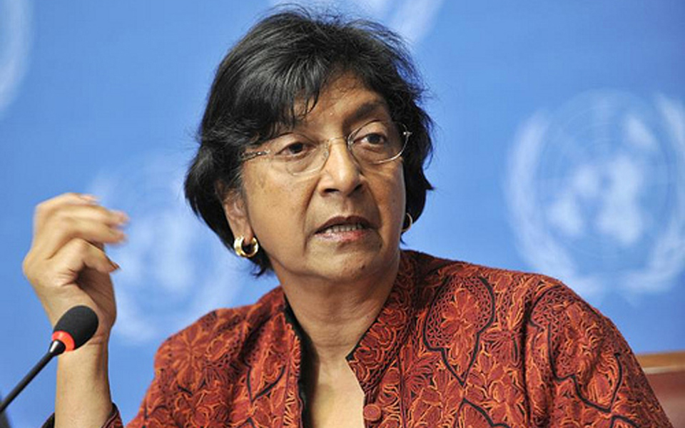UN High Commissioner on Human Rights Navanethem Pillay (London Evening Post)