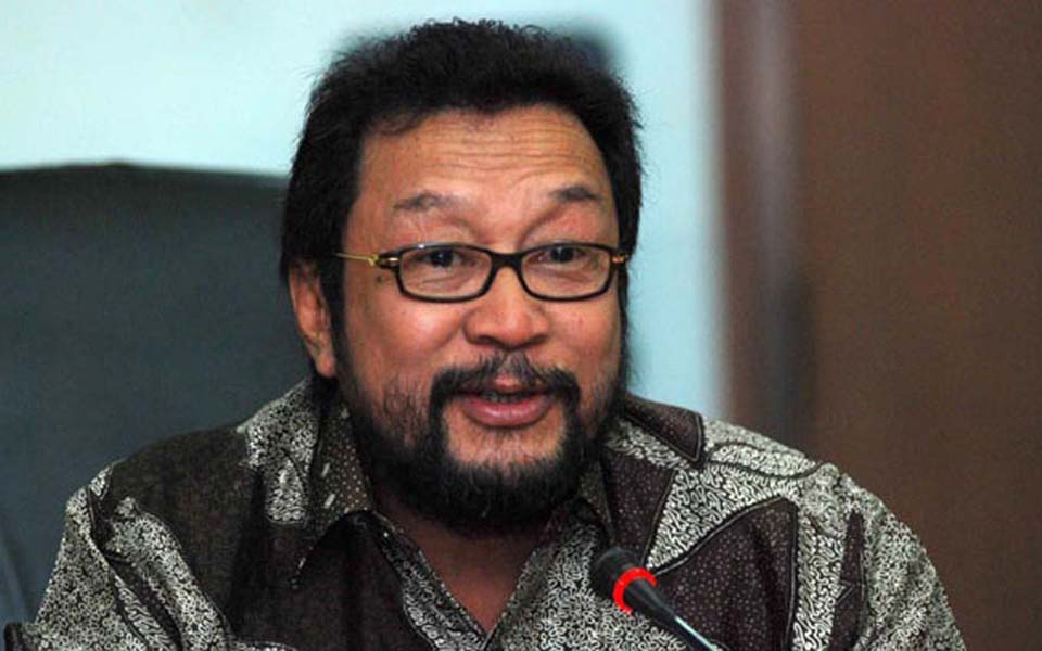 Former Pancasila Youth (PP) chairperson Yorrys Raweyai (Tempo)
