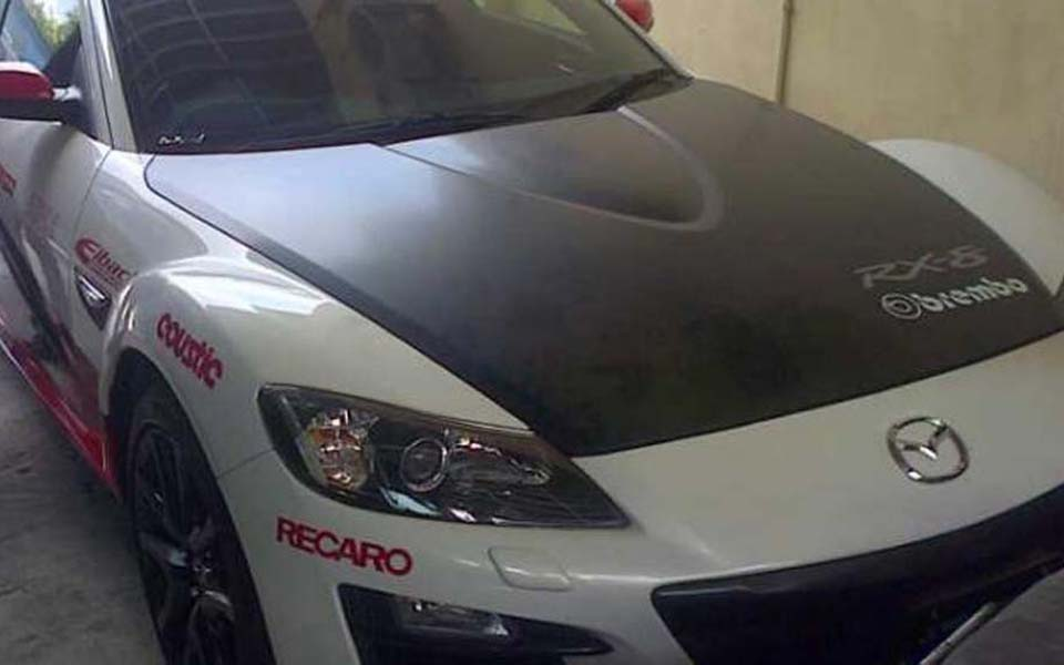 Mazda Sport owned by FPI Yogyakarta chairperson Bambang Tedy - September 15, 2014 (Kompas)