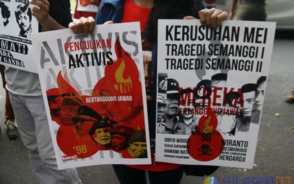 Indonesia Without Militarism rally - Undated (Pembebasan)