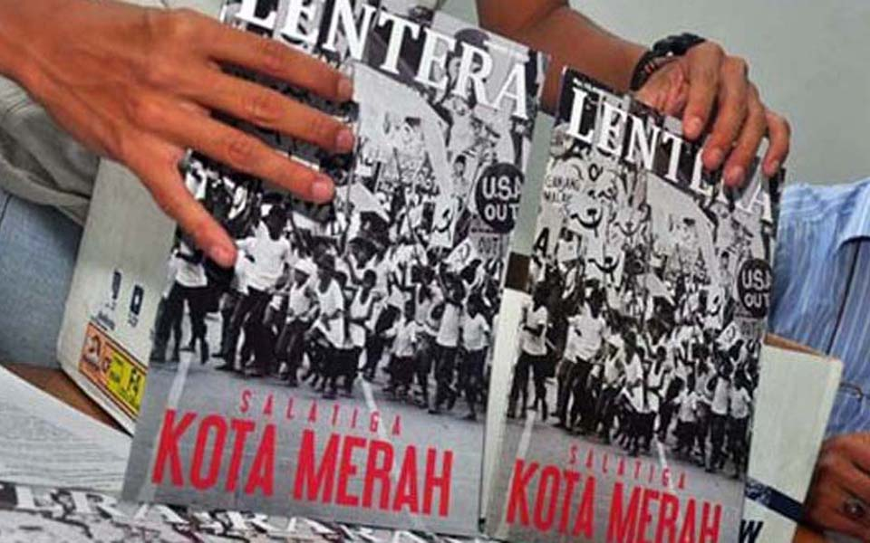 October 10 issue of Lentara magazine on purge of PKI sympathisers in Salatiga – October 20, 2015 (Antara)