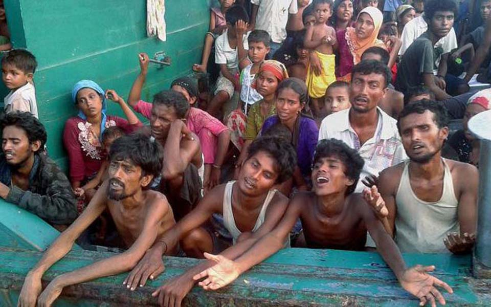 Rohingya refugees in Aceh - Undated (Tribune)