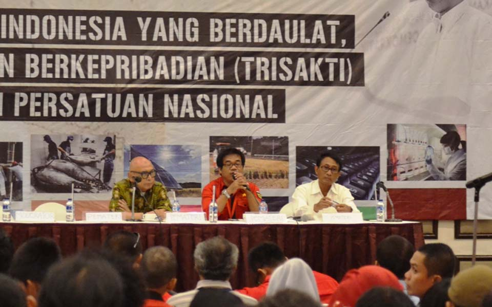 Soeripto invites PRD to collaborate against neoliberalism - March 25, 2015 (rmol.co)